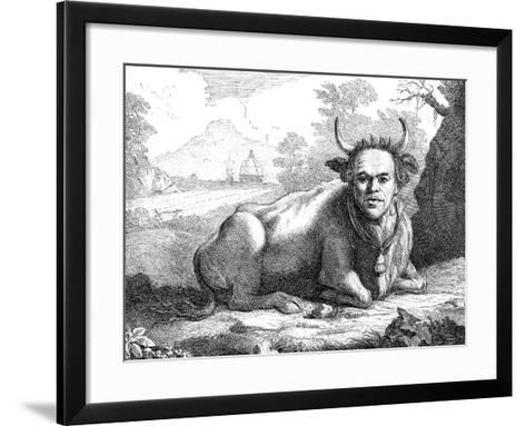 Sir Horace Mann, 18th Century-Thomas Patch-Framed Art Print