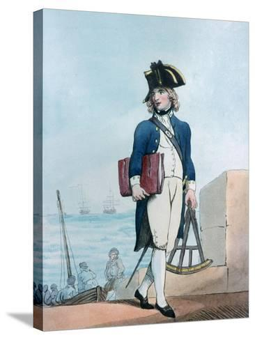 Candidate for the Marines, 1799-Thomas Rowlandson-Stretched Canvas Print