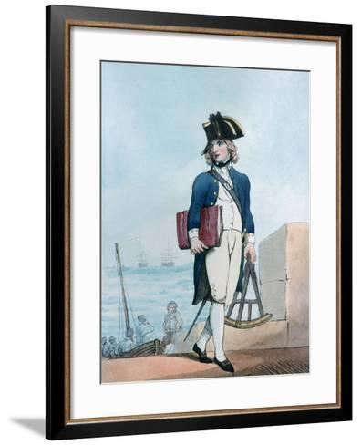 Candidate for the Marines, 1799-Thomas Rowlandson-Framed Art Print