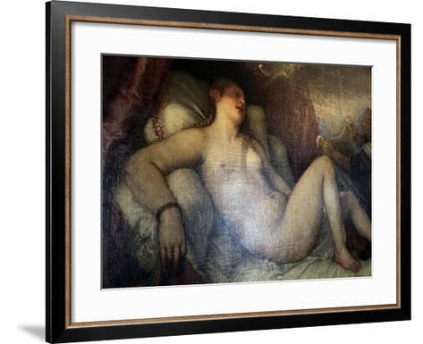 Danae, C1554-Titian (Tiziano Vecelli)-Framed Art Print