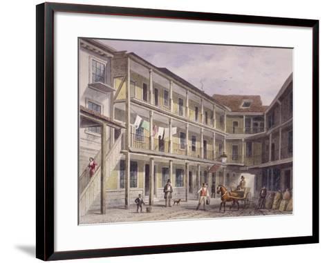 Aldgate High Street, London, C1850-Thomas Hosmer Shepherd-Framed Art Print