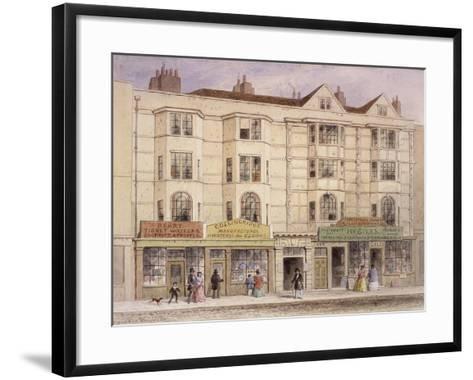 Aldersgate Street, London, 1851-Thomas Hosmer Shepherd-Framed Art Print