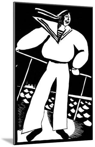 Seaman, 1919-Vladimir Ivanovich Kozlinsky-Mounted Giclee Print