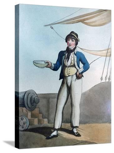 Sailor, 1799-Thomas Rowlandson-Stretched Canvas Print