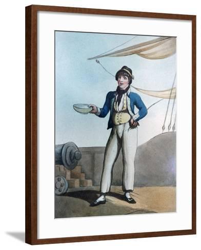 Sailor, 1799-Thomas Rowlandson-Framed Art Print