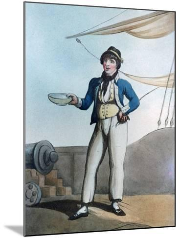 Sailor, 1799-Thomas Rowlandson-Mounted Giclee Print