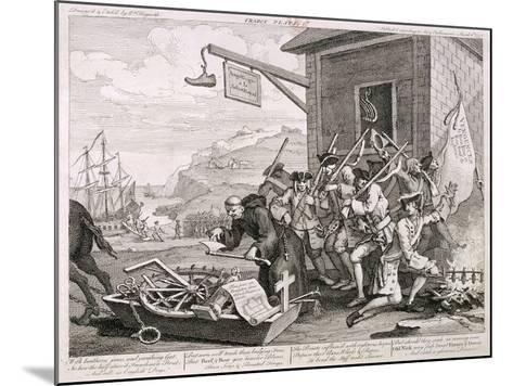 France, 1755-William Hogarth-Mounted Giclee Print