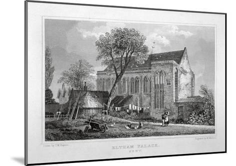 Great Hall of Eltham Palace, Kent, C1830-W Watkins-Mounted Giclee Print