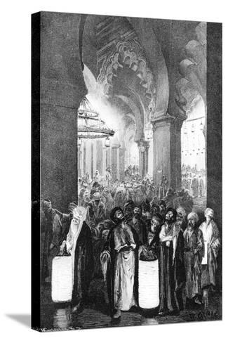 The Prayer During One Night of Ramadan, 1881-Wilhelm Gentz-Stretched Canvas Print