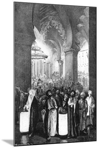 The Prayer During One Night of Ramadan, 1881-Wilhelm Gentz-Mounted Giclee Print