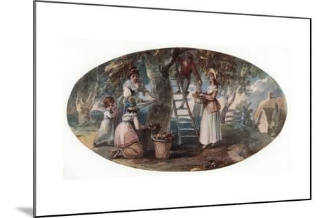 Gathering Fruit, Late 18th Century-William Hamilton-Mounted Giclee Print