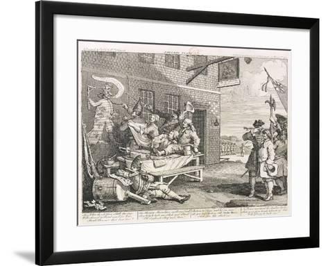 France, 1756-William Hogarth-Framed Art Print
