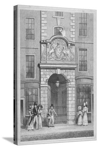 Saddlers' Hall, Cheapside, City of London, 1830-W Watkins-Stretched Canvas Print