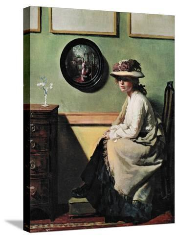 The Mirror, 1900-William Newenham Montague Orpen-Stretched Canvas Print