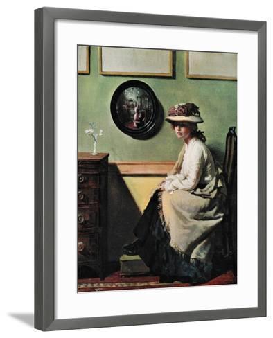 The Mirror, 1900-William Newenham Montague Orpen-Framed Art Print
