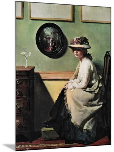 The Mirror, 1900-William Newenham Montague Orpen-Mounted Giclee Print
