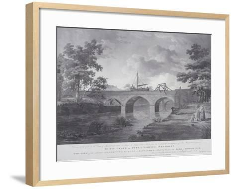 The Aqueduct at Barton, Near Manchester, 1793-William Orme-Framed Art Print