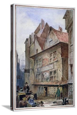 The Cock and Magpie Tavern, Drury Lane, Westminster, London, 1862-Waldo Sargeant-Stretched Canvas Print