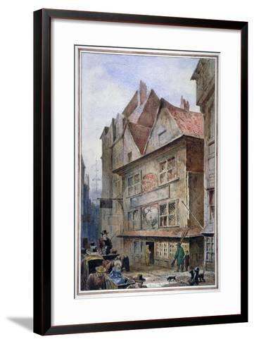 The Cock and Magpie Tavern, Drury Lane, Westminster, London, 1862-Waldo Sargeant-Framed Art Print