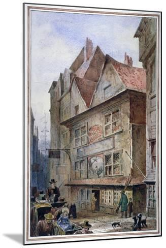 The Cock and Magpie Tavern, Drury Lane, Westminster, London, 1862-Waldo Sargeant-Mounted Giclee Print