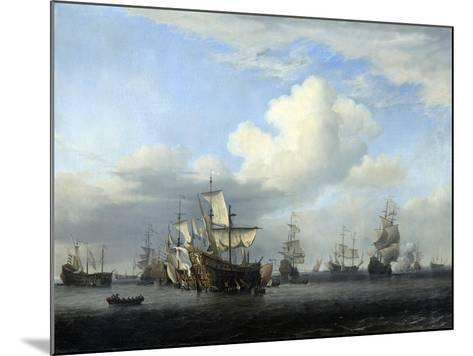 The Captured 'Swiftsure, 'Seven Oaks, 'Loyal George' and 'Convertine..., C1666-Willem Van De Velde The Younger-Mounted Giclee Print