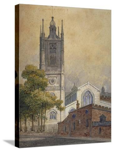 Church of St Margaret, Westminster, London, C1810-William Pearson-Stretched Canvas Print