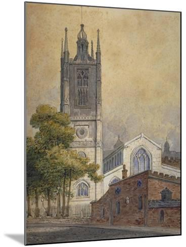 Church of St Margaret, Westminster, London, C1810-William Pearson-Mounted Giclee Print