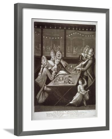 The Humours of the Pantheon, 1772-William Humphrey-Framed Art Print