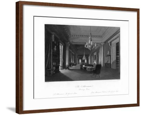 The Drawing Room, Athenæum, 19th Century-W Taylor-Framed Art Print