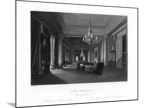 The Drawing Room, Athenæum, 19th Century-W Taylor-Mounted Giclee Print