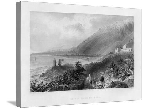 The Battlefield of Issus, Turkey, 1841-WH Capone-Stretched Canvas Print