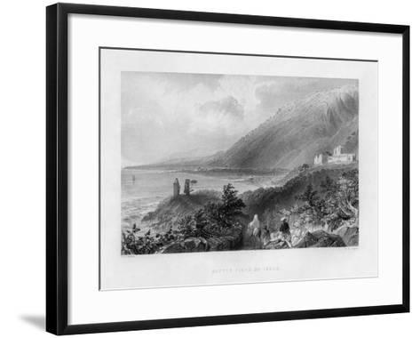 The Battlefield of Issus, Turkey, 1841-WH Capone-Framed Art Print