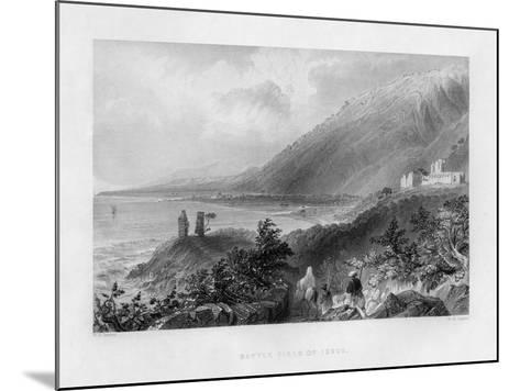 The Battlefield of Issus, Turkey, 1841-WH Capone-Mounted Giclee Print