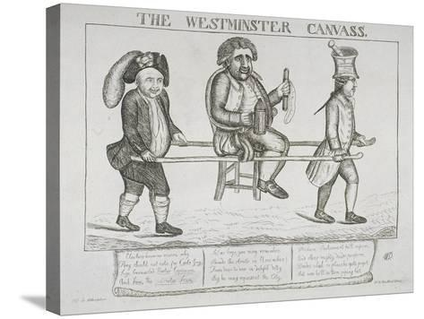 The Westminster Canvass, 1784-William Dent-Stretched Canvas Print