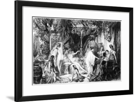 Summer, C1880-1882-W Unger-Framed Art Print