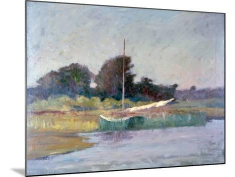 Lone Boat, C1868-1917-Walter Clark-Mounted Giclee Print