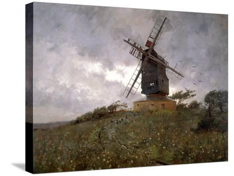 The Haunted Mill, 1893-WH Murphy Grimshaw-Stretched Canvas Print