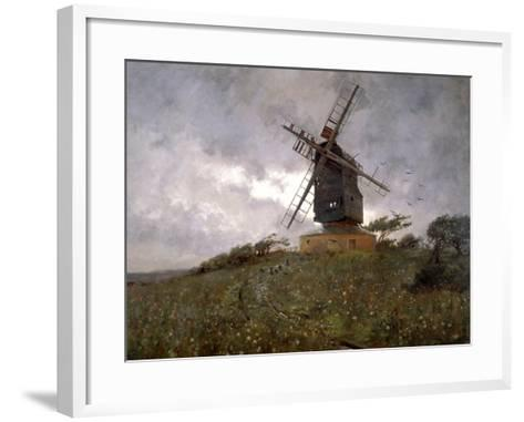 The Haunted Mill, 1893-WH Murphy Grimshaw-Framed Art Print