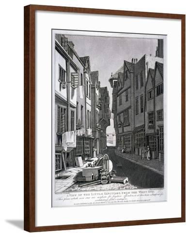 Little Sanctuary, Westminster, London, 1807-William Fellows-Framed Art Print