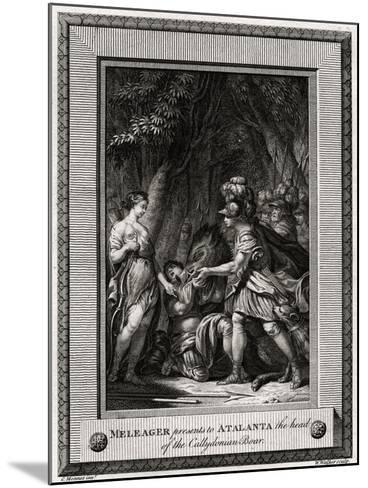 Meleager Presents to Atalanta the Head of the Callydonian Boar, 1774-W Walker-Mounted Giclee Print