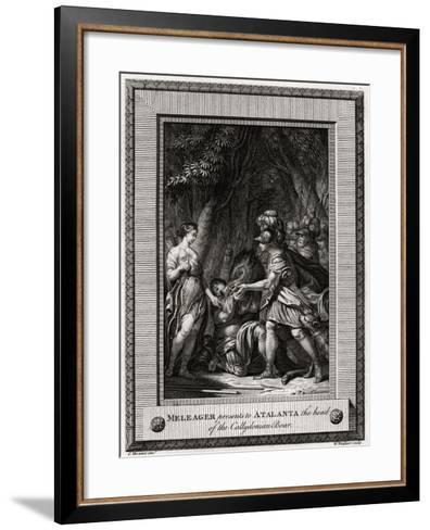 Meleager Presents to Atalanta the Head of the Callydonian Boar, 1774-W Walker-Framed Art Print