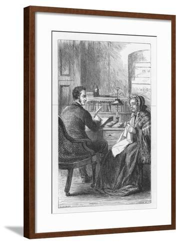 Scene from the Mill on the Floss by George Eliot, C1880-Walter-James Allen-Framed Art Print