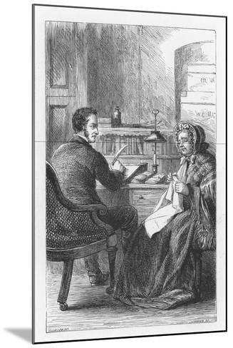 Scene from the Mill on the Floss by George Eliot, C1880-Walter-James Allen-Mounted Giclee Print