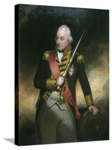 Admiral John Jervis, C1801-William Beechey-Stretched Canvas Print