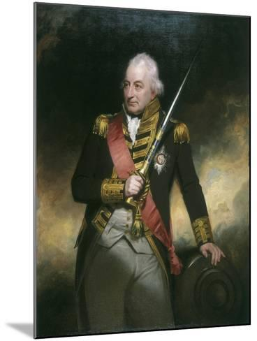 Admiral John Jervis, C1801-William Beechey-Mounted Giclee Print