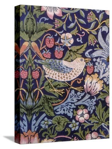 The Strawberry Thief, 1883-William Morris-Stretched Canvas Print