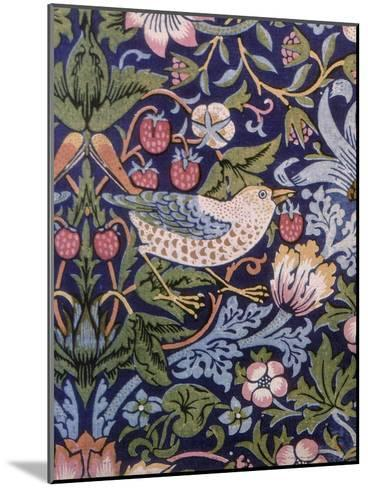 The Strawberry Thief, 1883-William Morris-Mounted Giclee Print
