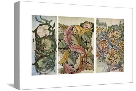 Working Drawings by William Morris (1834-189), 1934-William Morris-Stretched Canvas Print