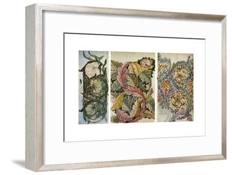 Working Drawings by William Morris (1834-189), 1934-William Morris-Framed Art Print