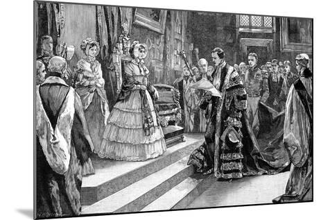 Presentation to the Queen, C1850S-William Heysham Overend-Mounted Giclee Print